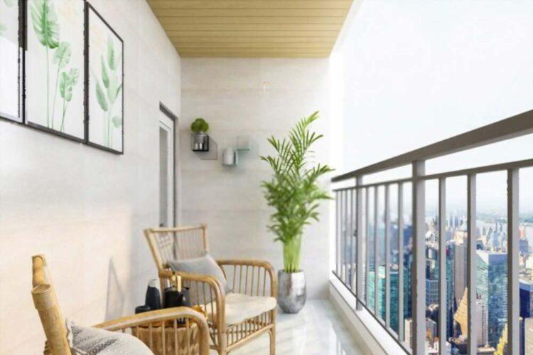 Balcony Design Bedroom Interior Designs With Balcony Modern House