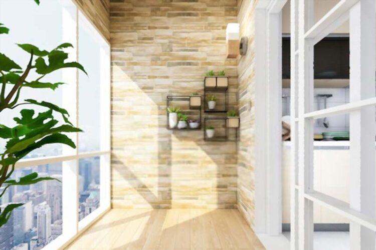 Balcony Garden Modular Balcony Designs With Glass Cover