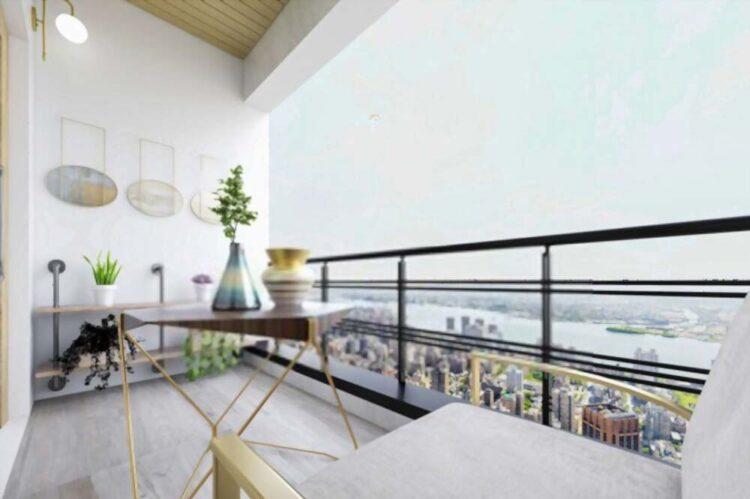 Terrace Garden Ideas Artificial Landscape Design Balcony